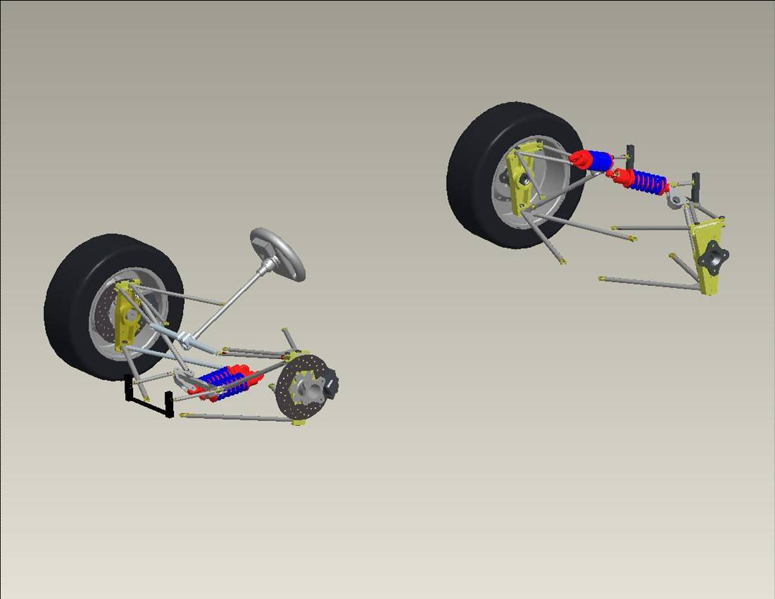 Formula SAE McGill Racing Team - Suspensions ::